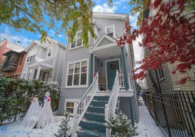 1853 Ohio Street, Chicago, Illinois 60622, 3 Bedrooms Bedrooms, 6 Rooms Rooms,2 BathroomsBathrooms,Single Family Home,For Sale,Ohio,10572936